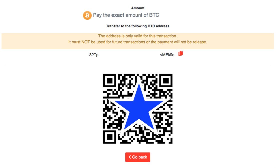 AstroPay(アストロペイ)Bitcoin(ビットコイン)入金