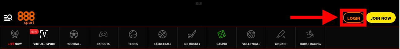 888sport ログイン