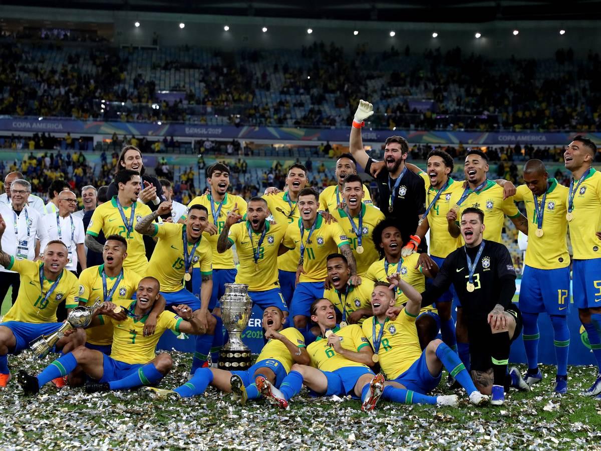 2019 コパ・アメリカ優勝者 ブラジル