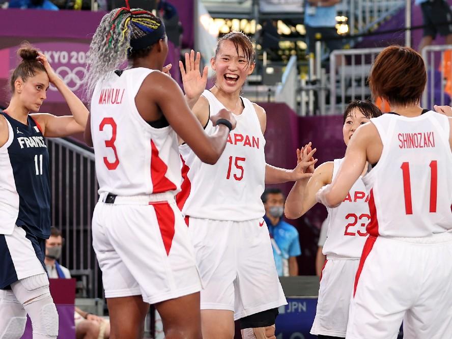 バスケットボール 女子 3x3 日本代表