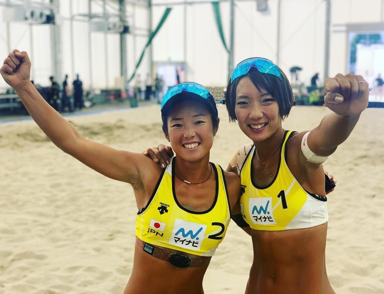 日本代表 女子ビーチバレー