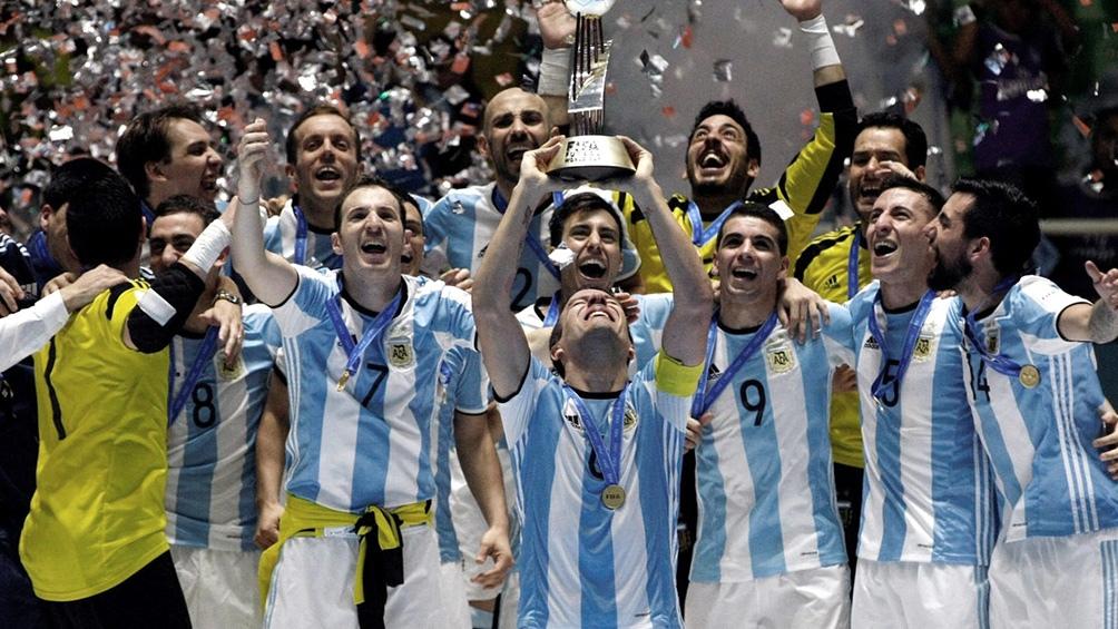 2016 FIFAフットサルワールドカップ 優勝国 アルゼンチン